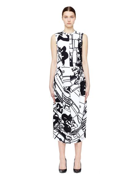 Comme des Garçons Stefan Marx Dress - Black/White Print