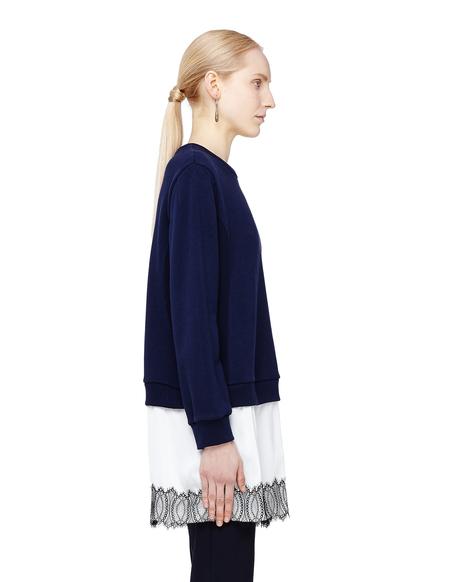 Sue Undercover Cotton Sweatshirt - Navy
