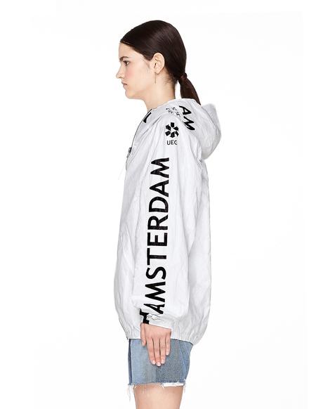 UEG Amsterdam Printed Tyvek Jacket
