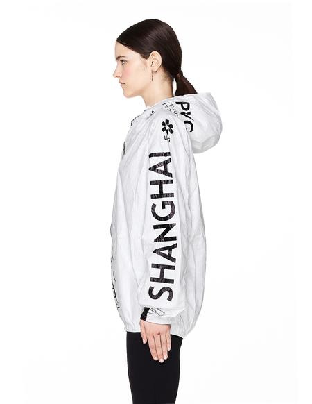 UEG Shanghai Printed Tyvek Jacket