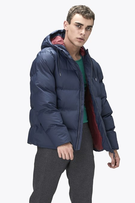 Unisex Rains Puffer Jacket - Blue