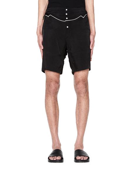 The Soloist Rayon Shorts - Black