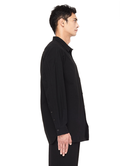 Ziggy Chen Cotton Shirt - Black