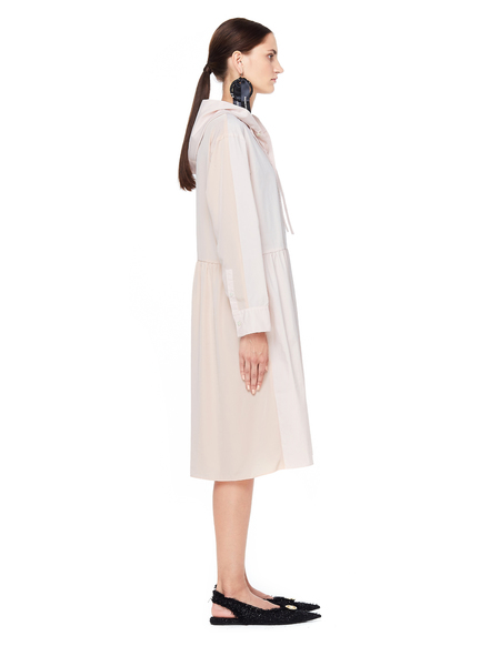 Sue Undercover Oversized Hooded Dress - Pink