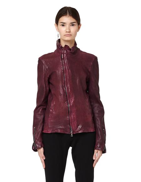 Backlash Leather jacket - Burgundy