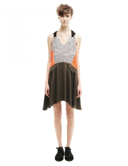 Damir Doma Cotton and polyester dress - Multicolor