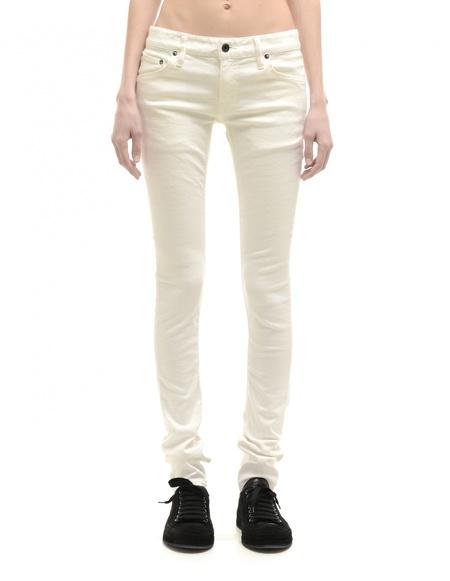 L.G.B. Cotton Jeans - White