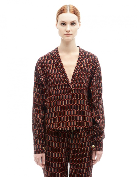 Marni Rayon Jacket - Multicolor