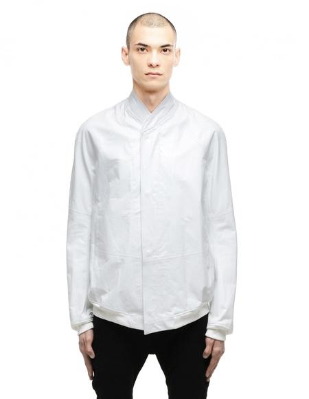Julius Leather bomber - White