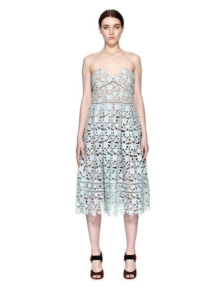 Self-Portrait Polyester Dress