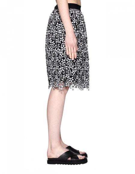 Self-Portrait Polyester Skirt
