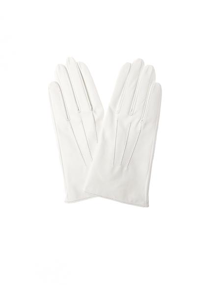 Yohji Yamamoto Leather Gloves - White