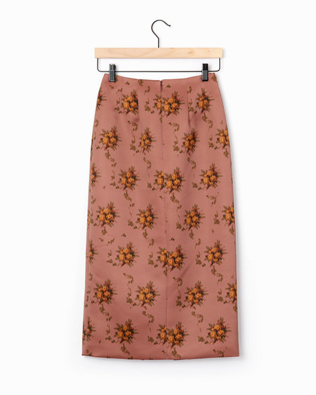 Brock Collection Sorrel Skirt - Brown Multi