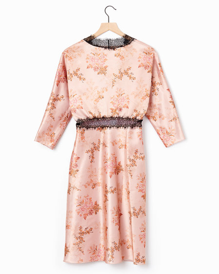 Brock Collection Dharma Dress - Peach Multi
