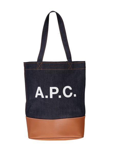 A.P.C. Axel Shopping Bag - Caramel