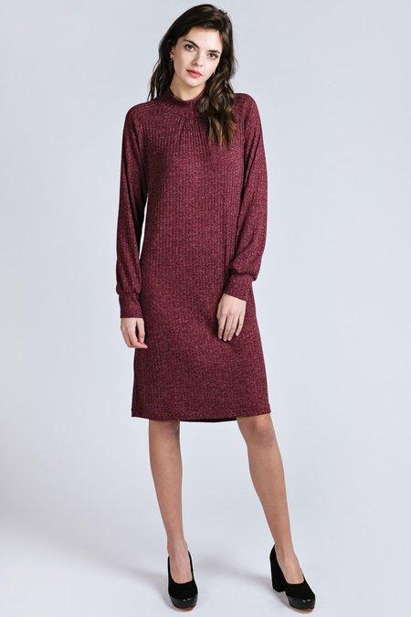 Allison Wonderland Louvre Dress - Raspberry
