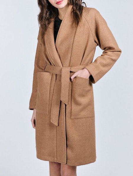 Allison Wonderland Tate Coat - Camel