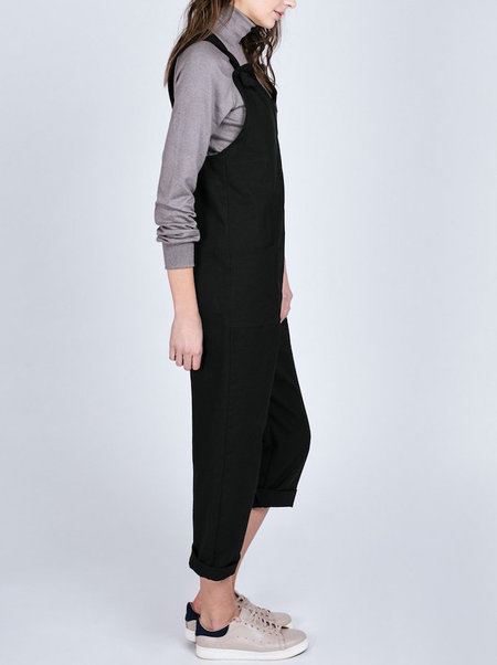 Pillar By Allison Wonderland Portillo Overalls - BLACK