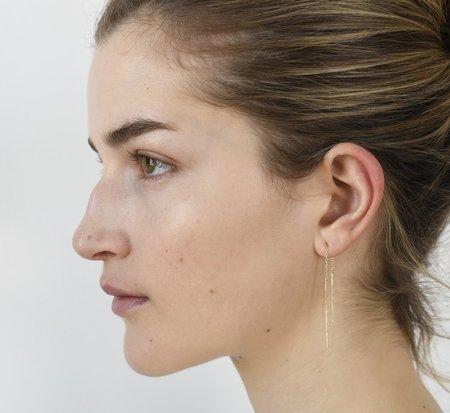 8.6.4 Short Chain Earring - 14k Gold