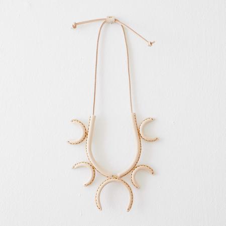 Crescioni Flor Necklace - NATURAL