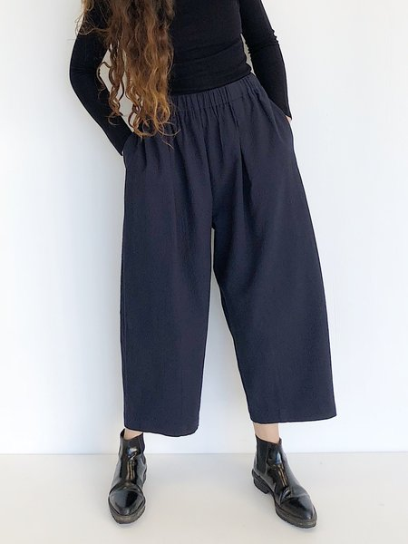 Kloke Quilted Pant - Navy
