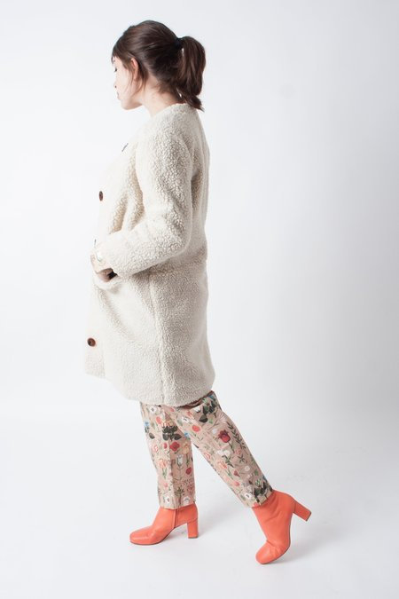 Loup Carly Faux Shearling Jacket - Ivory