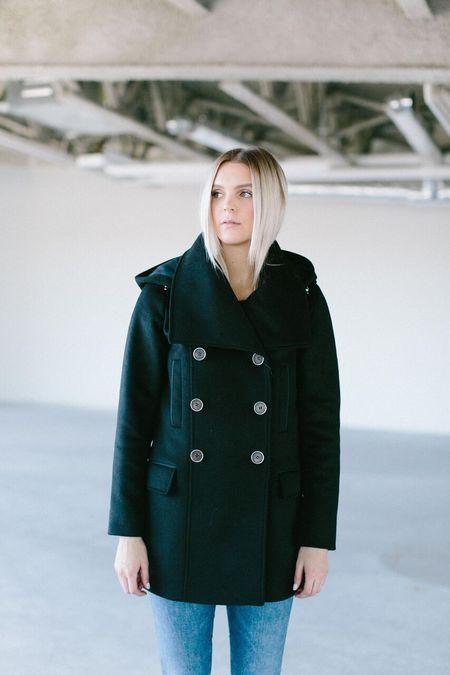Mackage Rae Hooded Wool Coat