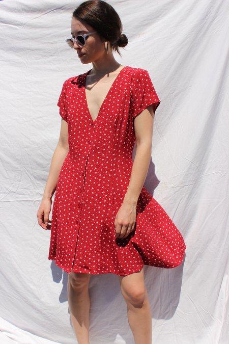 Rolla's Jeans Milla Dress - Rouge Dandelion