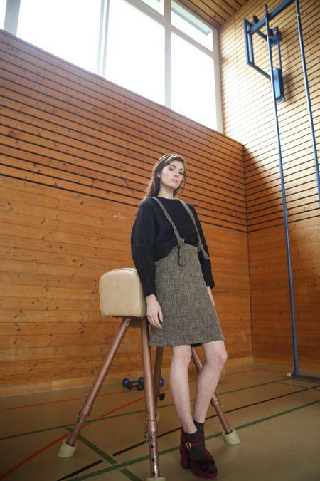 Claudia Nabholz Wool Sweater - Black
