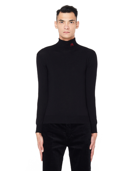 Raf Simons Wool Turtleneck Sweater - Black