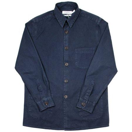 Schnayderman's Overdyed Overshirt One - Dark Blue