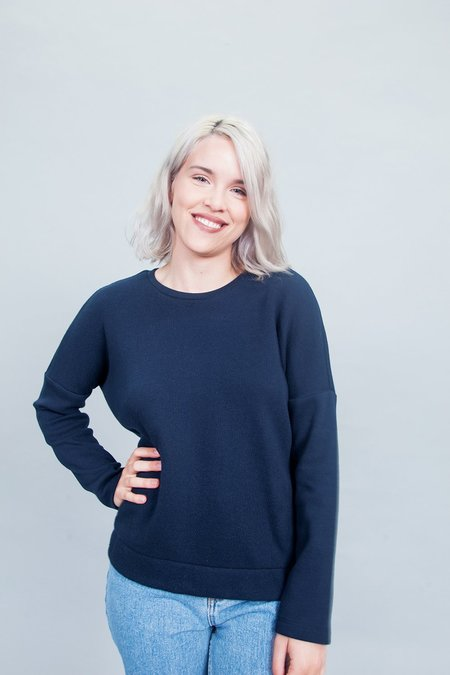 Jennifer Glasgow Dionne Sweater - Navy