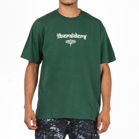 Liberaiders Nepal Font T-Shirt - Green