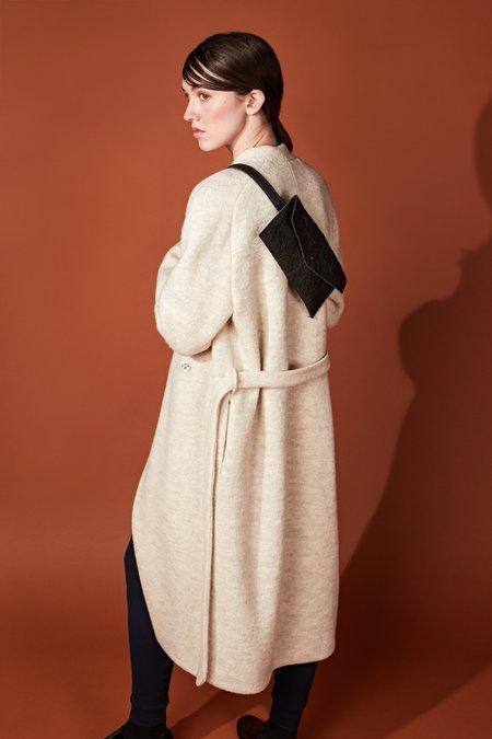 Studio Elsien Gringhuis Round Coat - Off White