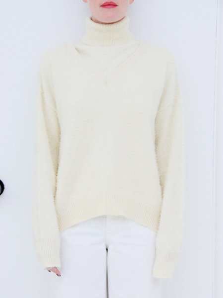 House of Sunny Two-in-One Concept Jumper - Stone