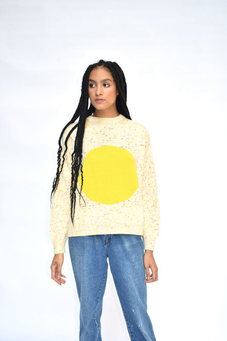 Soft Haus Sol Pullover - Pink/Yellow