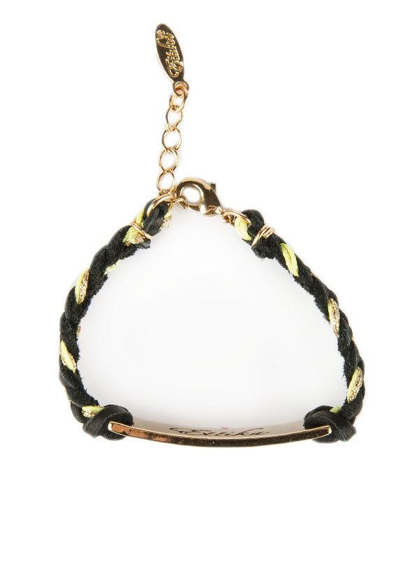 Ettika Tribal Diamond Bar Bracelet