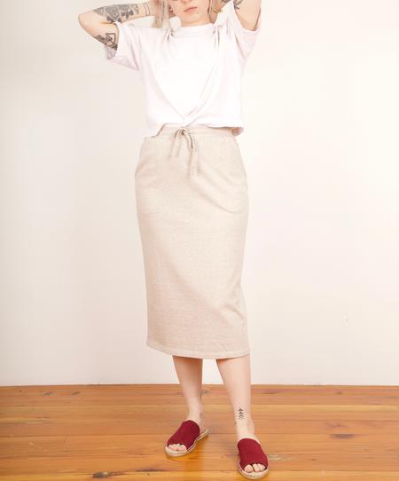 Blok Hill Kowtow Drawstring Skirt