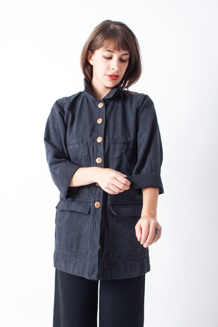 Ilana Kohn Mabel Canvas Jacket - Inky