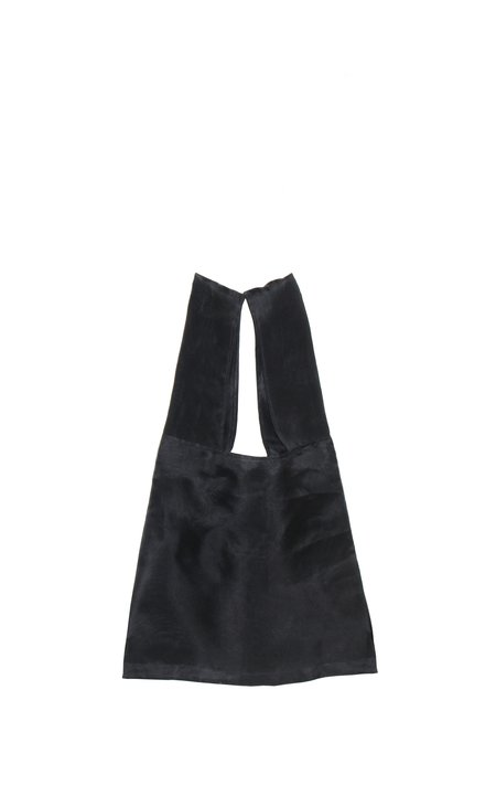 Georgia Jay Dahlia bag - Black Organza