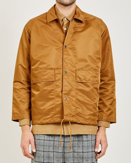 GREI NEW YORK COACH JACKET - AMBER