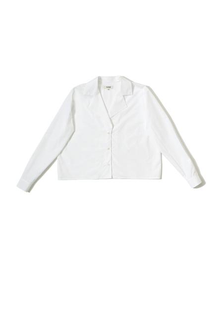 Samuji CHIPO SHIRT - WHITE