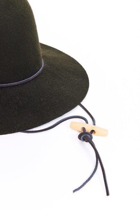 Brookes Boswell Wool Felt Suncrest Hat - Loden