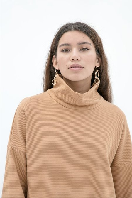 Noumenon Caitlyn Dress - Gold