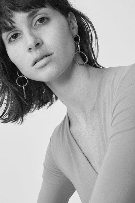 Jenny Bird Ossie Earrings - Gold/Rhodium