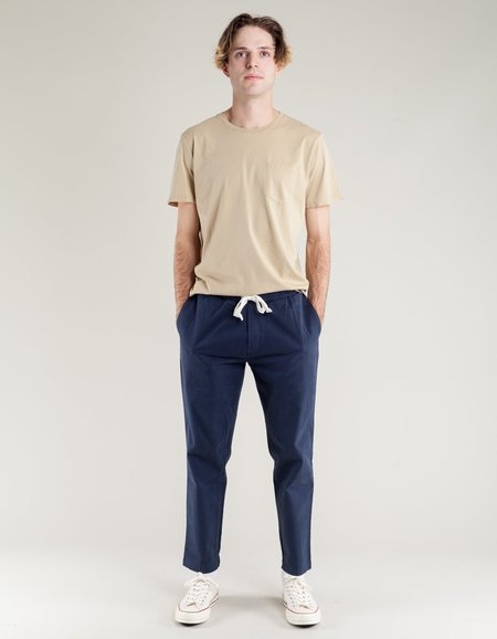 Sunshine Blues Drawstring Pant - Carbon