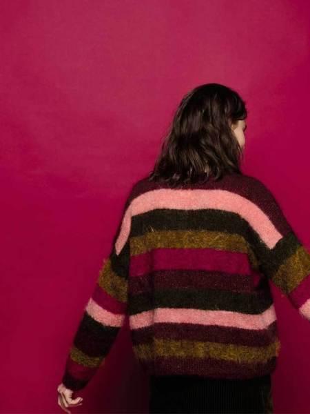 Des Petits Hauts Amboise Stripe Knit - Multi