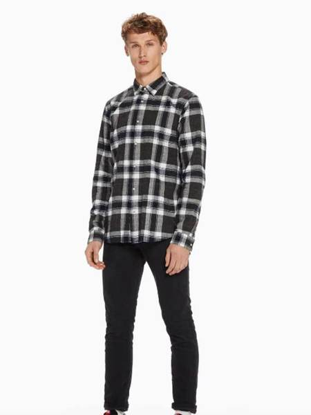 Scotch & Soda Classic Shirt - Black/White
