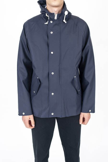Norse Projects Anker Rain Jacket - Dark Navy