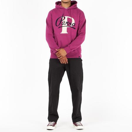 by Parra Painterly Script Pullover Hoodie
